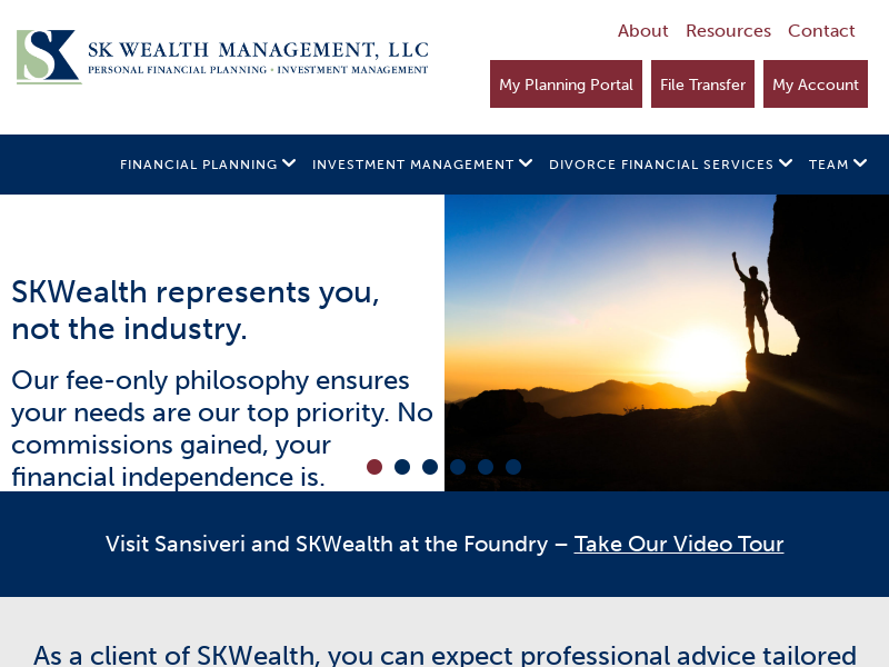 SKWealth, SK Wealth Management LLC, Personal Financial Planning, Investment Management