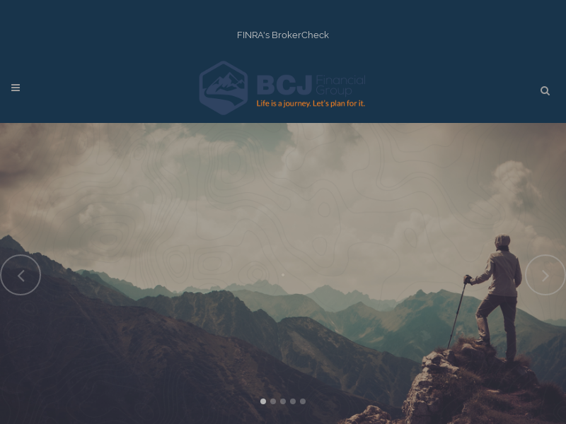 BCJ Financial   We are your firm of specialists.