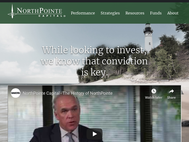 Funds | NorthPointe Capital