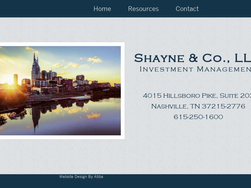 Home - Shayne & Co., LLC Shayne & Co., LLC