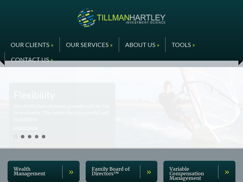 Tillman Hartley | Wealth Management for Successful Families | Fee Only Registered Investment Advisor