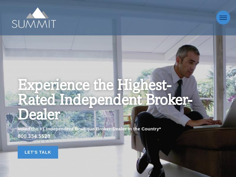 Summit Brokerage | Rated #1 Independent Boutique Broker-Dealer | Summit