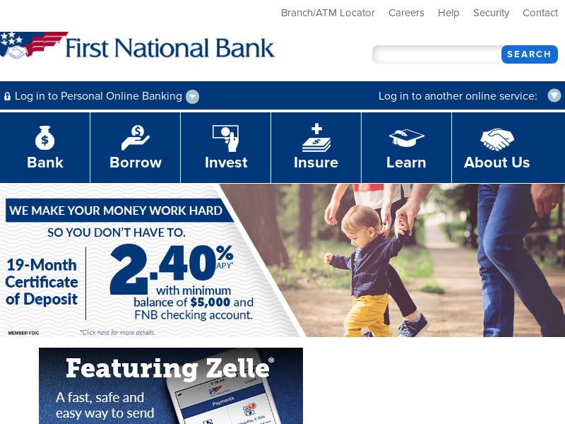 Business & Personal Banking in PA, OH, NC, SC, MD, WV | First National Bank