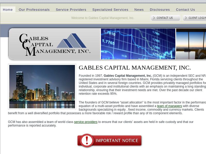 Gables Capital Management