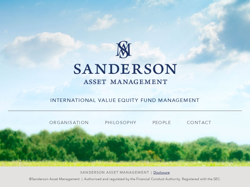 Home | Sanderson Asset Management
