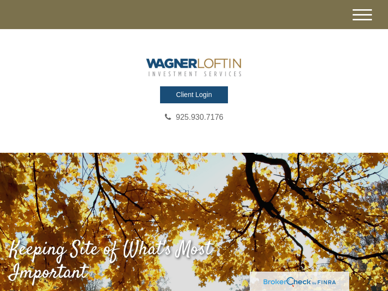 Home | Wagner Loftin Investment Services