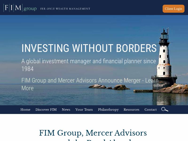 Home - FIM Group