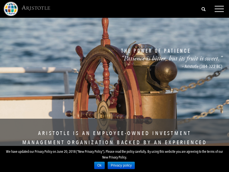 Aristotle - Seeking To Identify High-Quality Businesses