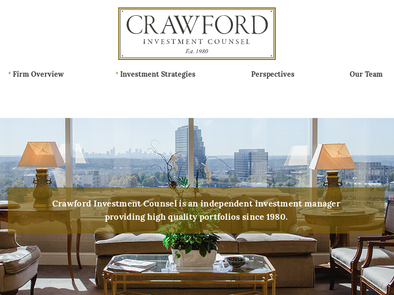 Home | Crawford Investment Counsel