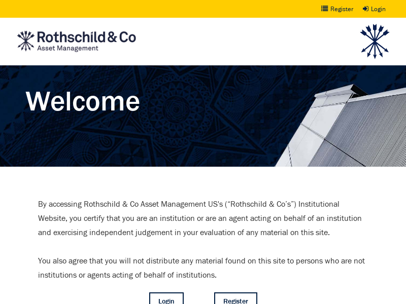 Welcome Rothschild & Co Asset Management US