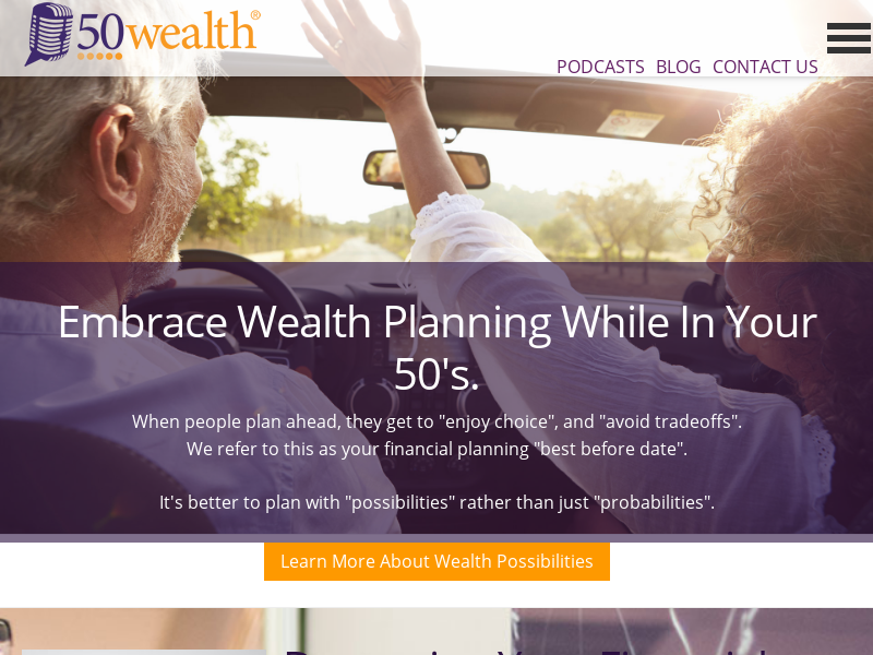 FiftyWealth - Financial Planning in Your Fifties