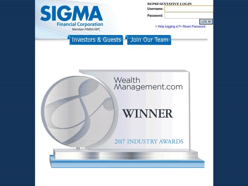 Sigma Financial Corporation / Sigma Planning Corporation - Member FINRA/SIPC