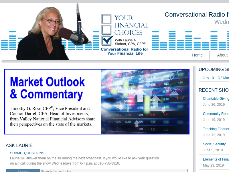 Your Financial Choices Radio - Conversational Radio for Your Financial Life