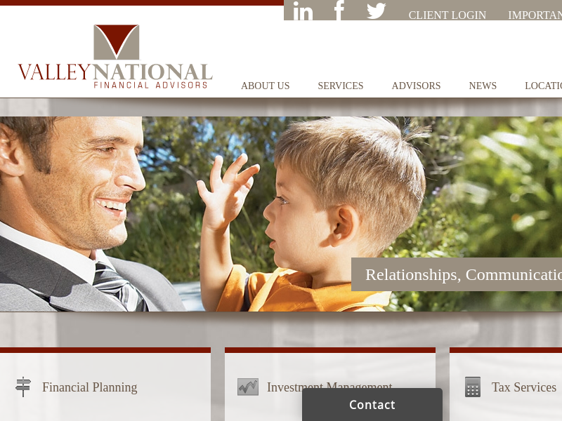 Valley National Group - Relationships, Communication, Direction Valley National Group