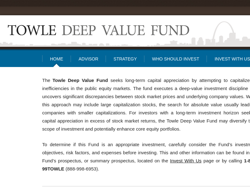 Towle Deep Value Fund