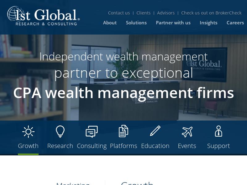 Blog   1st Global