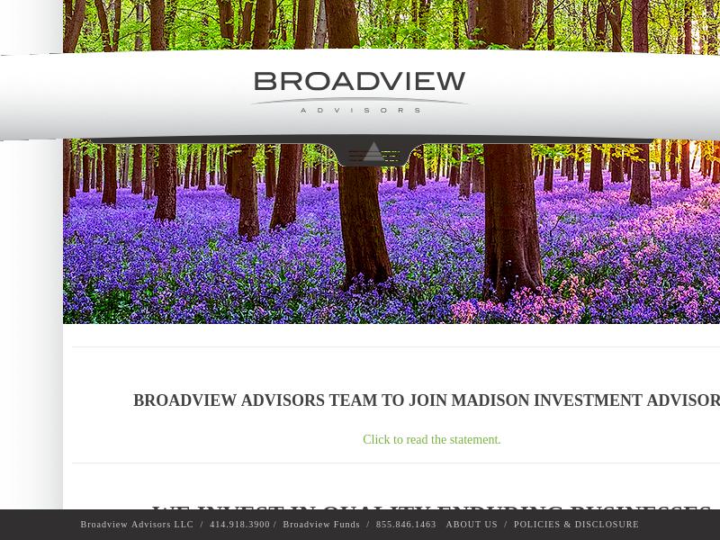 Broadview Advisors - BVA Funds