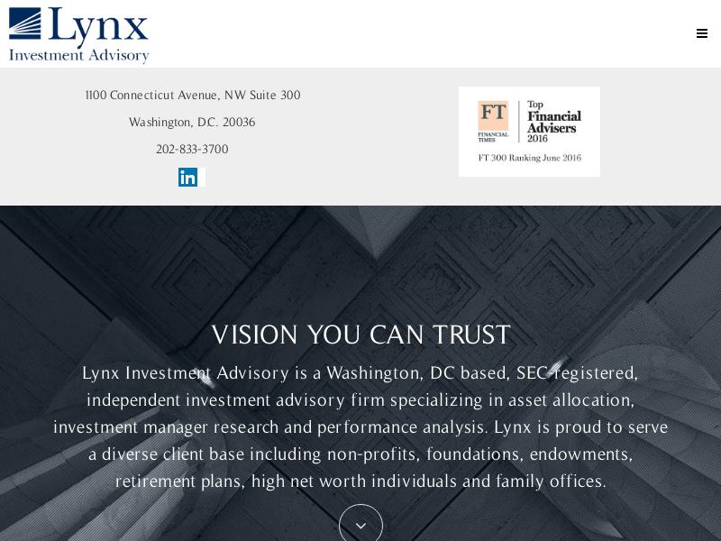 Home   Lynx Investment Advisory