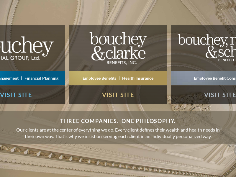 Three Companies. One Philosophy. | Bouchey Group