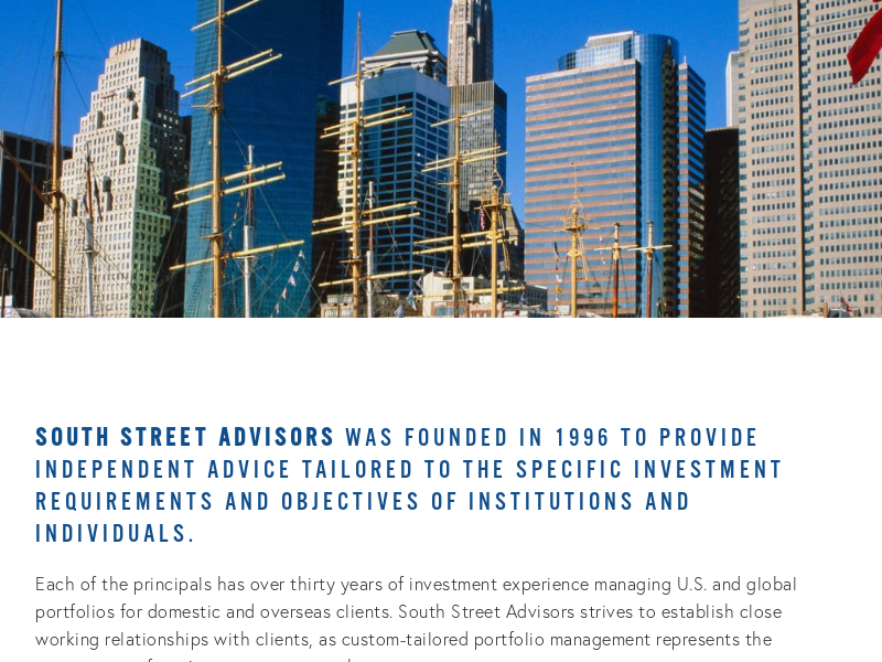 South Street Advisors LLC