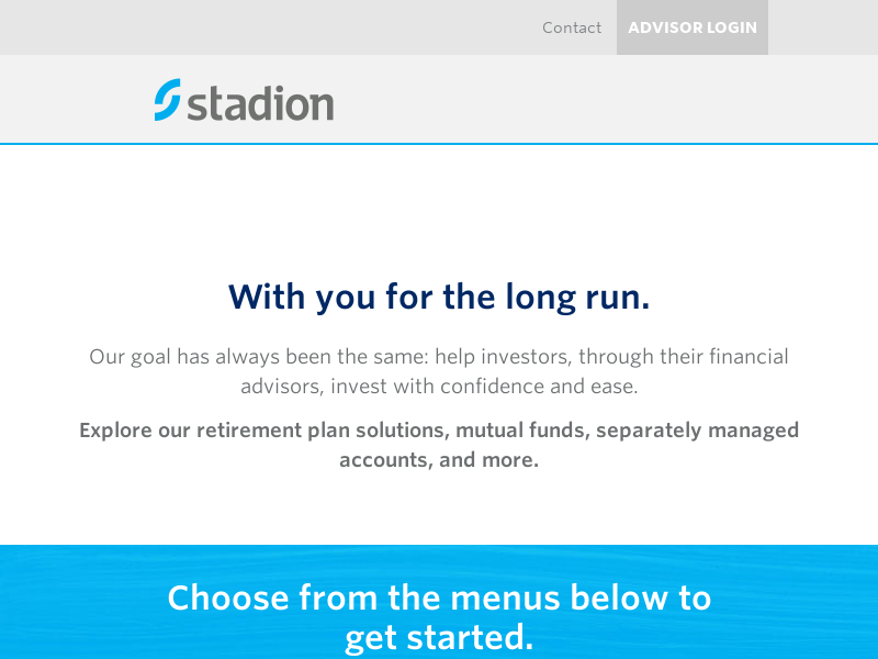 StoryLine | A Customizable Managed Accounts Solution | Stadion | Stadion
