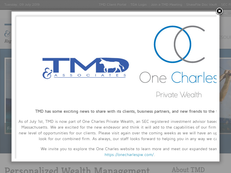 TMD & Associates, Inc.   Financial Planners, Investment Advisors, Portfolio Managers located in Phoenix, AZ