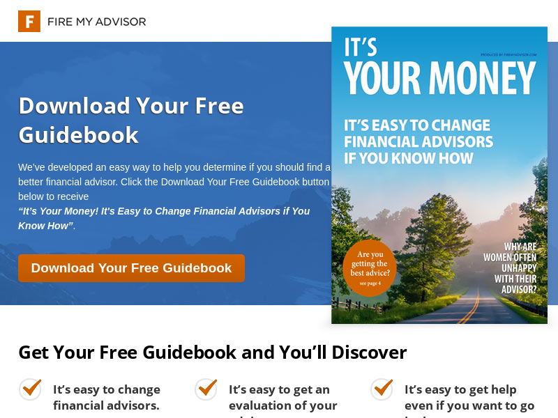 Fire My Advisor - How to Leave Your Financial Advisor, Change Advisors