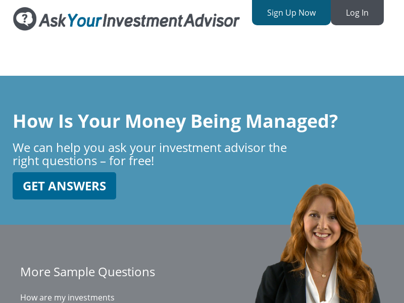 Ask Your Investment Advisor