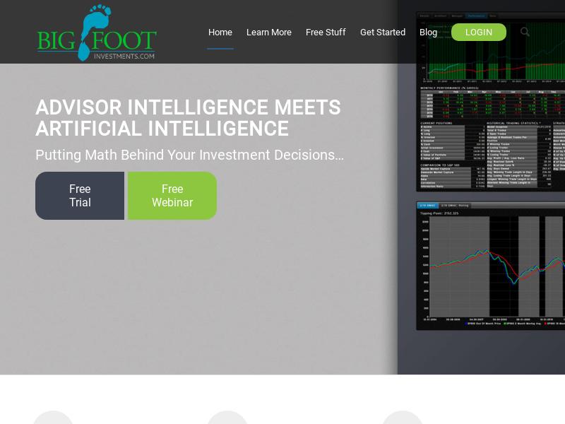 BigFoot Investments | ...Built By Advisors, for Advisors