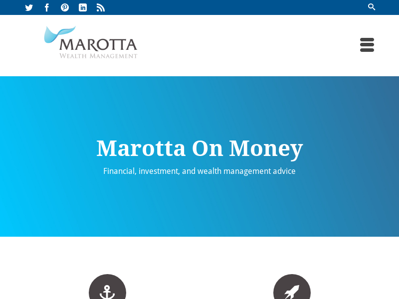 Marotta On Money – Financial, investment, and wealth management advice