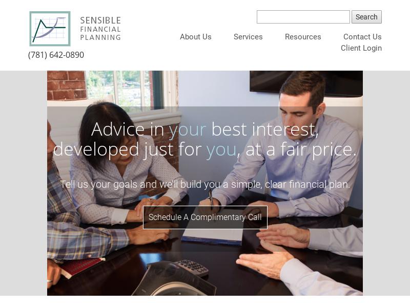 Sensible Financial Planning and Management - Sensible Financial