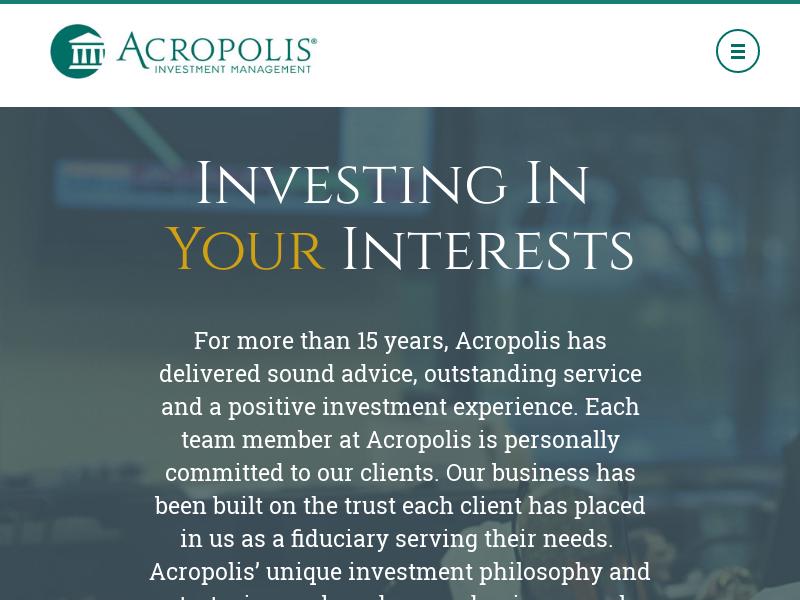 Company Sponsored Retirement Plan Management St. Louis
