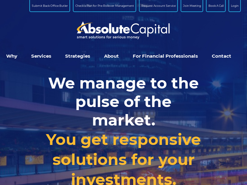 Home - Absolute Capital