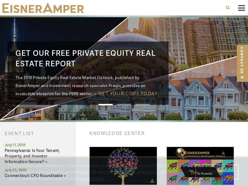 EisnerAmper Accounting Firm Tax Services Accountants NJ NY PA FL CA CPA