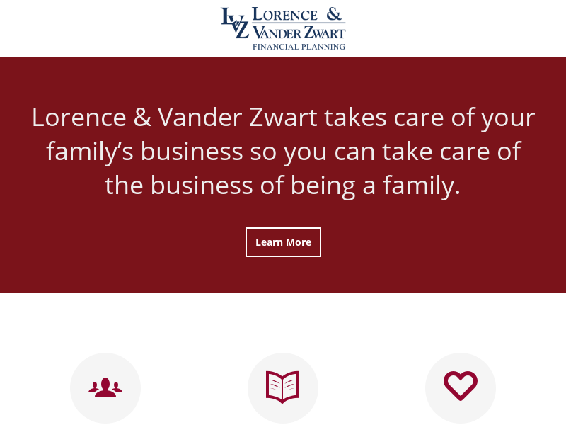 LVZ Financial Planning | More Than a Manager