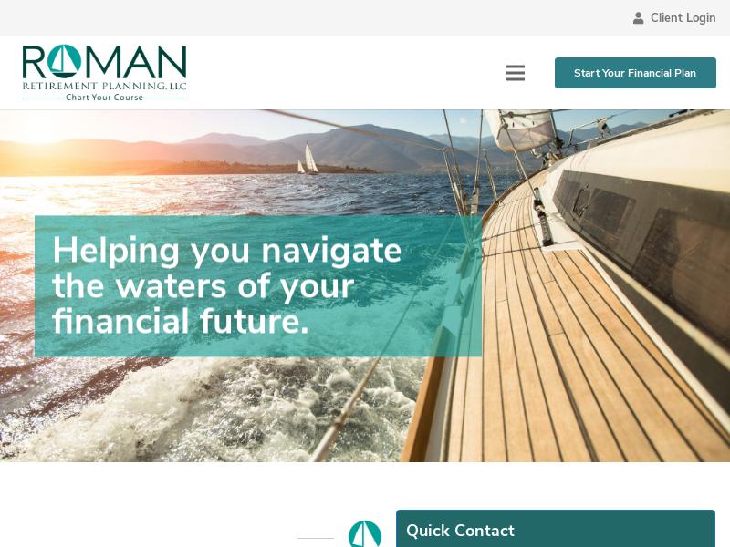 About – Roman Retirement Planning