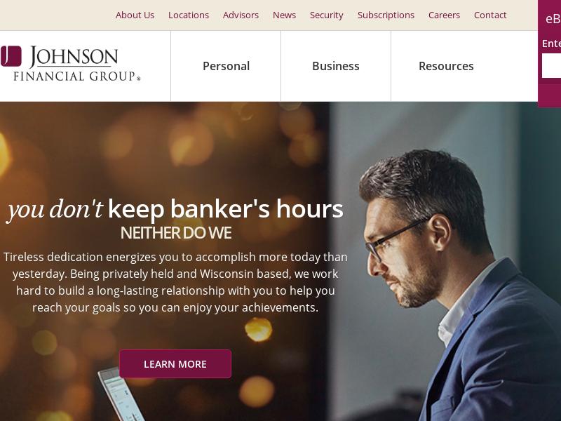Johnson Bank   Banking, Wealth, Insurance