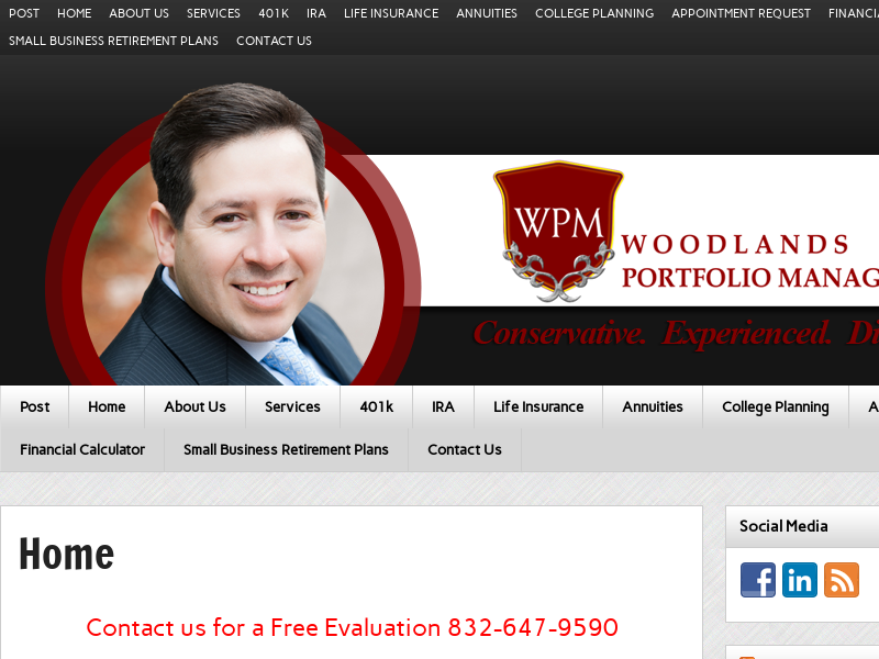 Woodlands Portfolio Management | Financial Services in Spring, Texas