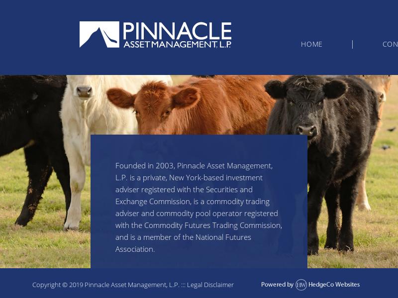Pinnacle Asset Management, L.P.