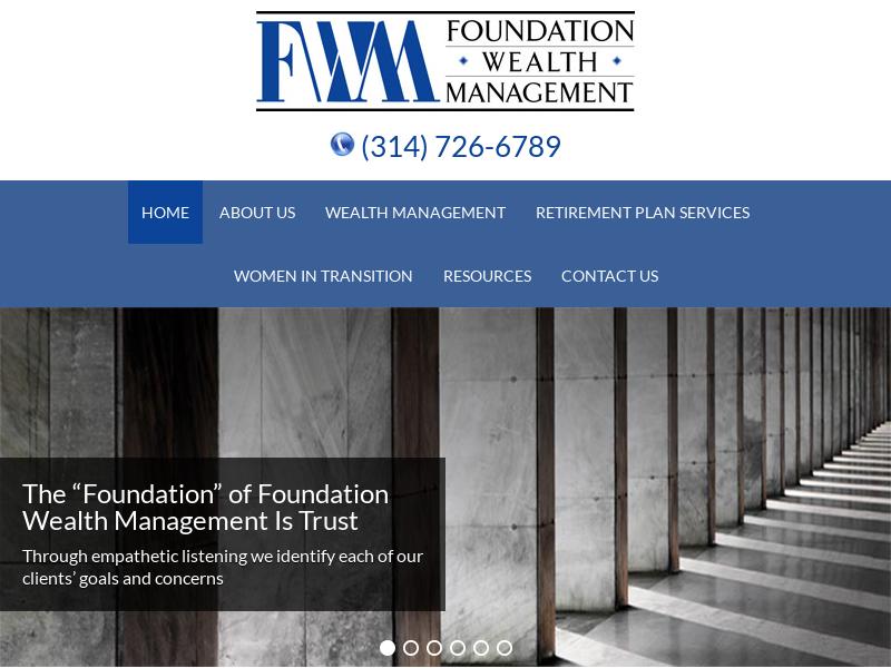 Foundation Wealth Management   Wealth Management Services