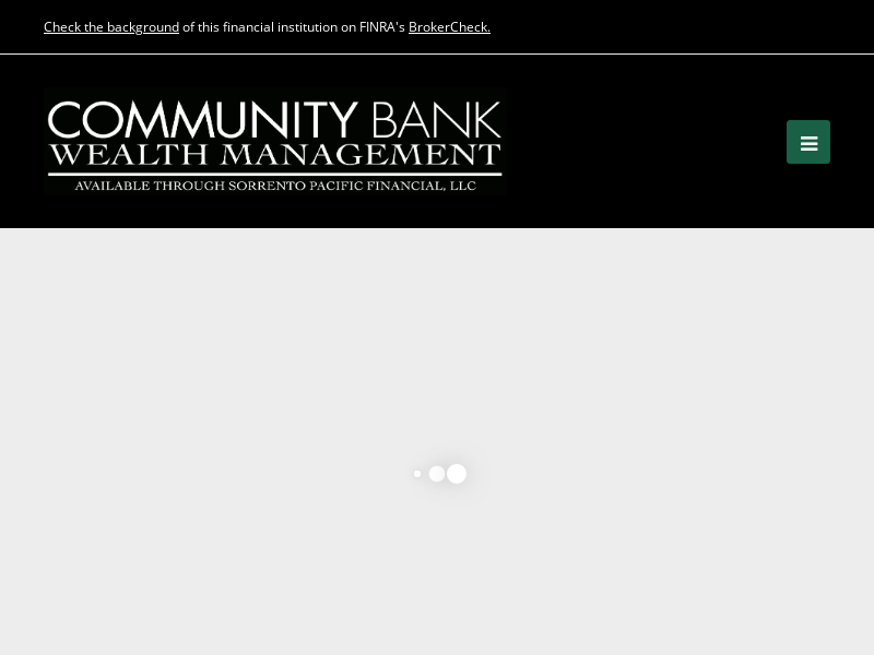 Homepage | Community Bank Wealth Management