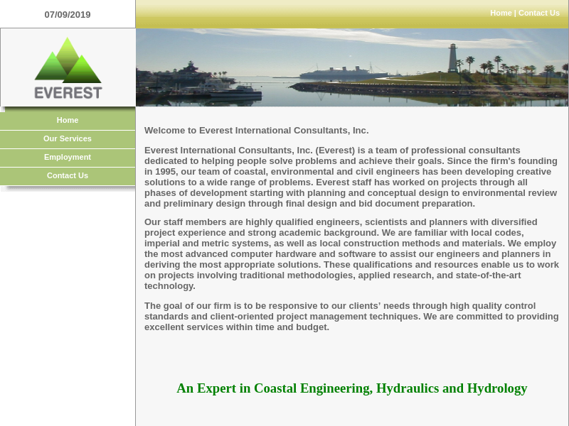 Everest International Consultants, Inc. Homepage
