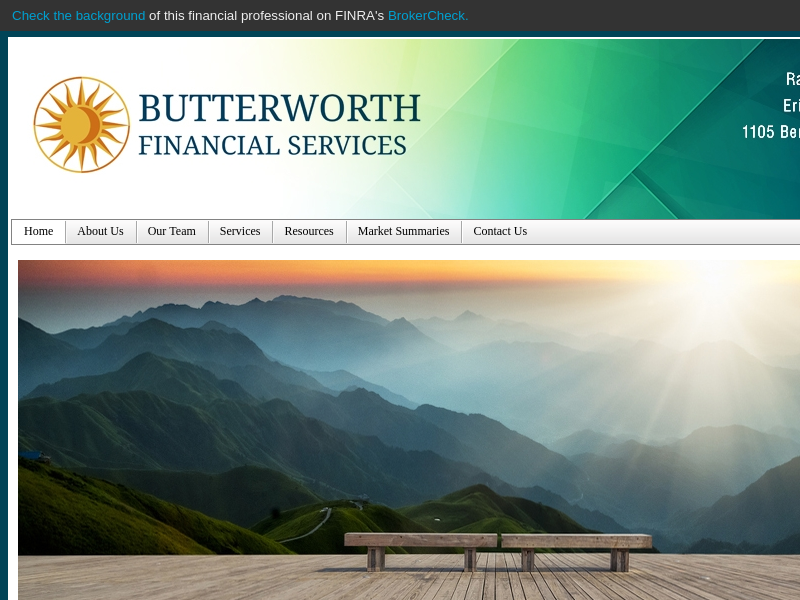 Home - Butterworth Financial Services