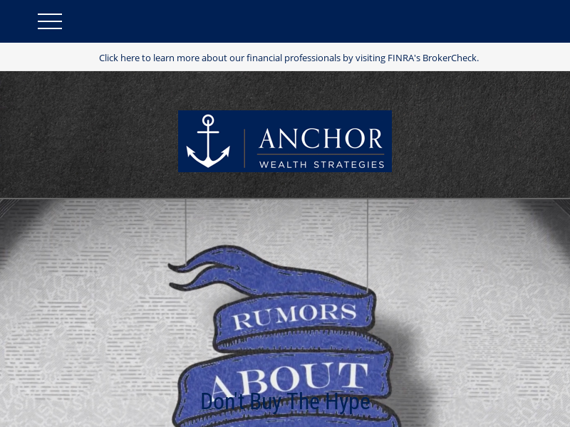 Home | Anchor Wealth Strategies