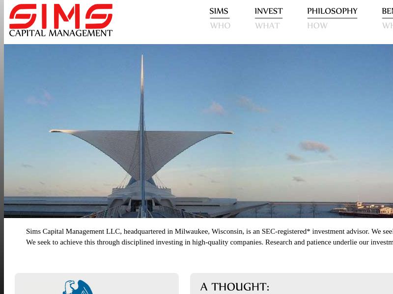 Sims Capital Management