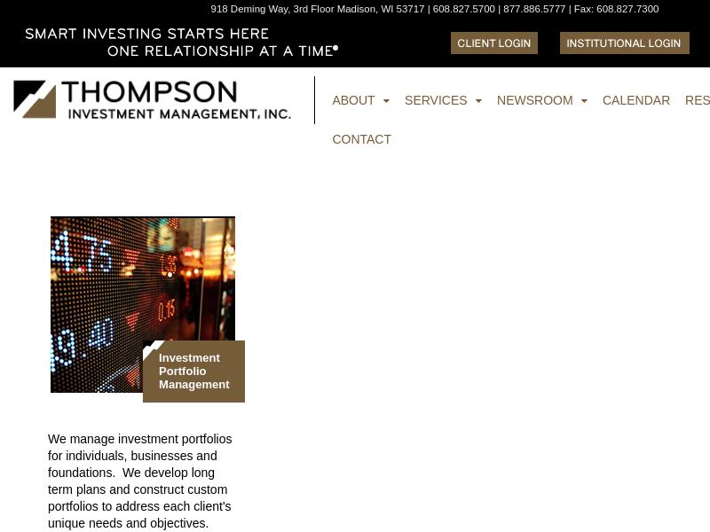 Thompson Investment Management, Inc.