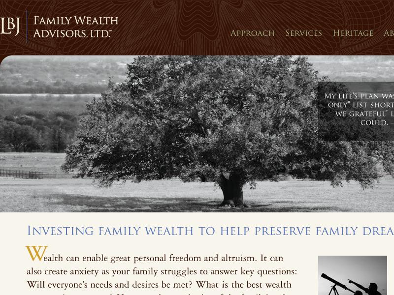 LBJ Family Wealth Advisors, LTD.