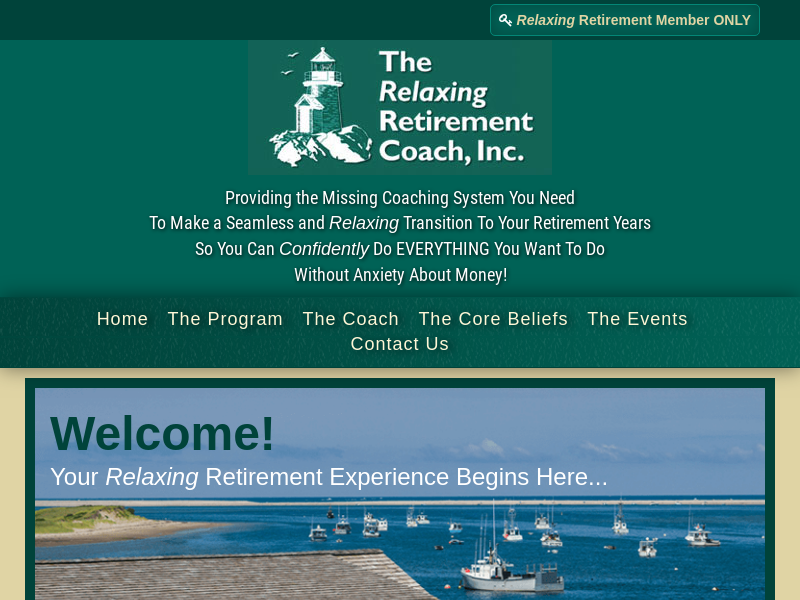 Jack Phelps | The Relaxing Retirement Coach