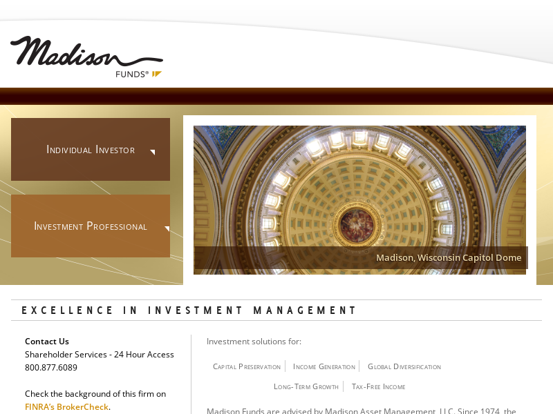 Madison Funds   Excellence in Investment Management   Madison Funds