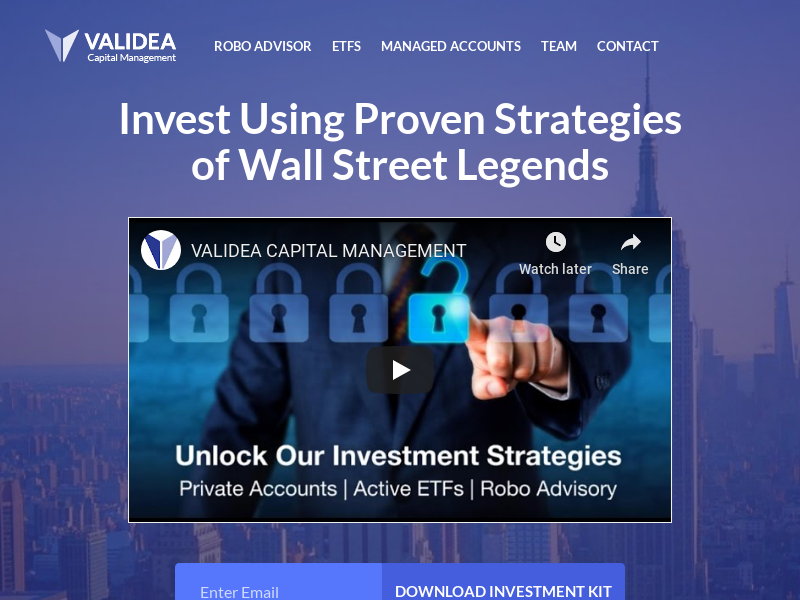 Validea Capital Management - Invest Using the Proven Strategies of Wall Street Legends